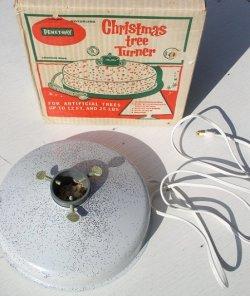 """画像1: アメリカ製 クリスマスツリー回転スタンド PENETRAY社 """"Christimas tree Turner"""""""