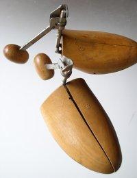 木製トラベルシューキーパー/シューズストレッチャー