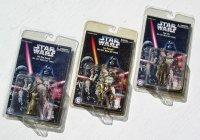 STAR WARS DIE CAST METAL KEY CHAIN/ スターウォーズ キーチェイン (1)See-Threepio (2)Han Solo (3)Obi-Wan Kenobi  各1個