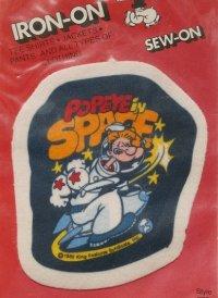POPEYE SPACE PATCH  IRON-ON SEW-ON  ポパイスペース パッチ/ワッペン