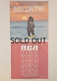 "EP/7inch/シングル  日立マクセル UDカセットテープ CMソング(1980)  ""RIDE ON TIME "" 山下達郎 RCA RECORDS   Side A.RIDE ON TIME/ Side B. RAINY WALK (1980)"