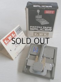 "PATCH TAPE SPLICER パッチテープスプライサー ""712E"" 仕様:スーパー8/シングル8"