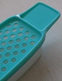 TAKASHIMAYA ダイキンプラスチック プラスチック製おろし器 color: グリーン&ホワイト size: L21×W8.9×D4.7(cm)