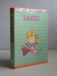 ダイヤ株式会社 BINDER バインダー   女の子イラスト(Kuni.T. )