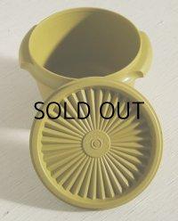 Tupperware タッパーウェア (ユーズド) ベルボピー/ストーレージ/コンテナボウル color: グリーン size: Ø11.5(W13)×H9.4×Ø8.8(cm)