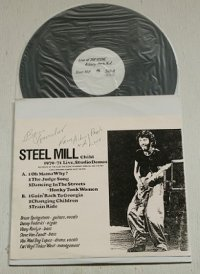 "LP/12""/Vinyl 見本盤 "" Steel Mill Child (1970〜1971 Live, Studio Demos"" RECORDED AT THE CLUB ""THE SCENE""IN ASBURY PARK, N.J. ON 1/18/1971&BILL GRAHAMS FILMORE WEST ON 1970.  ブルース・スプリングスティーン/ スティール・ミル スタジオデモ"