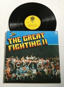 """画像1: LP/12""""/Vinyl  """" THE GREAT FIGHTING II必殺のプロレス・テーマ集  """" (1978)  OVERSEAS RECORDS"""