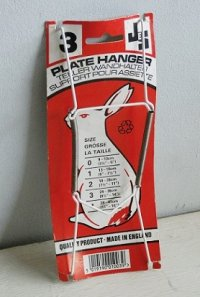 JES PLATE HANGER No.3 MADE IN ENGLAND プレートハンガー No.3 可能皿サイズ:最小24cm、最大30cm 最大荷重:1000g