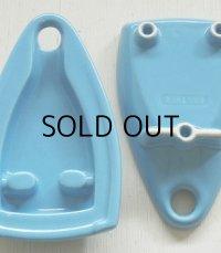 BROTHER ブラザー 毛糸湯のし器/アイロンスタンド/アイロン置き color: みずいろ size: H24×W14×H4.7(cm)