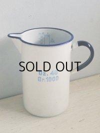 KOCKUMS SWEDEN Oz. 40 Gr. 1000 ホーローメジャーカップ/ジャグ size : Ø10cm×H16.6(cm)