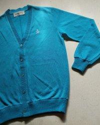 Munsingwear マンシングウェア キッズ カーディガン  size: 140cm(11-12) T6 color: ブルー