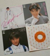 "EP/7""/Vinyl/Single  ""追いかけて夏/女の子植物図鑑  ""小沢なつき 作詞 秋元康/ 作・編曲 馬飼野康二 (1987)CBSSONY"