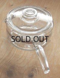 CORNING GLASS WORKS PYREX FLAMEWARE 1 1/2 QT.Saucepan  パイレックス フレームウェア ソースパン size: 約1.4L