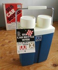 ダイヤ魔法瓶工業 DIA CAR BOTTLE WIDE ダイヤ カーボトル ワイド SW-112 color:ブルー 容量:1.1L