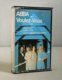 """画像1: Cassette/カセットテープ Sweden/ U.K. """"Voulez-Vous"""" ABBA アバ (1979) Polar Music International AB"""