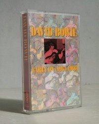 "Cassette/カセットテープ U.S.A. "" DAVID BOWIE Early On (1964-1966) "" デヴィッド・ボウイ (1991) RHINO"
