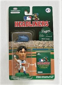 CORINTHIAN   HEADLINERS   Dodgers Hideo Nomo   野茂英雄 フィギュア 1996