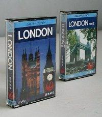 カセットテープ  JALテープガイド  LONDON/LONDON PART2  2本セット  TDK