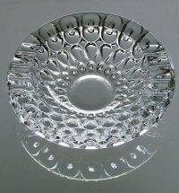 ガラス灰皿 プレスパターン