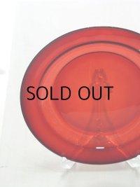 arcoroc france アルコロック Royal Ruby plate ロイヤルルビーサラダプレート size: Φ19 cm