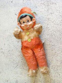 画像1: GUND社 ピノキオ ラバーフェイス プラッシュドール