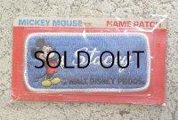 """ミッキーマウスワッペン(NAME PATCH) MICKEY MOUSE """"Stacey"""""""
