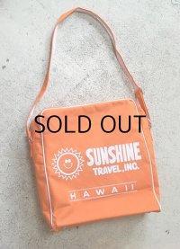 トラベルバッグ SUNSHINE TRAVEL, INC. HAWAII color: オレンジ