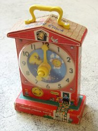 "Fisher・Price Toys フィッシャープライス ミュージックボックス""ティーチングクロック"" MUSIC BOX ""Teaching Clock"""