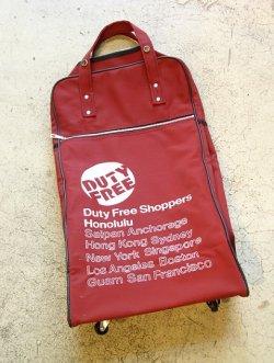 画像1: DUTY FREE SHOPPERS  HONOLULU  デューティーフリー  キャリーバッグ