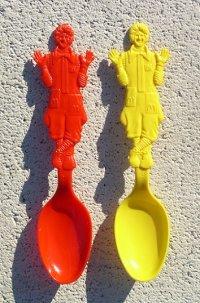 ドナルド・マクドナルド  Donald McDonald    1980  プラスチップスプーン  各1本