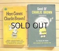 ペーパーバック  チャーリー・ブラウン  Good OL' CHARLIE BROWN  Here Come Charli Brown!   各1冊