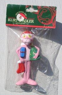 Kurt S. Adler社 ピンクパンサー クリスマスオーナメント ハンドクラフト