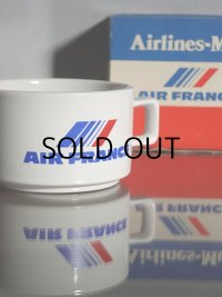 AIR FRANCE Airlines-Mug  マグカップ (NISSAN PRINCE ノベルティー エアーライングッズ)