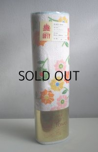 flower design Cut Towel  フラワープリント 花柄 カットタオル (36cm×300cm)