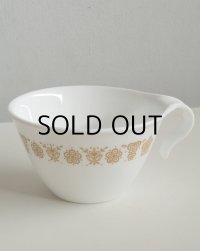 Corelle Coffee Mugs Cups : Gold Butterfly Pattern  フックハンドル コーヒーカップ/マグ バタフライゴールド