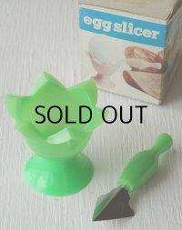 egg slicer(エッグスライサー) 卵花型切器