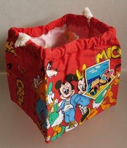 画像1: MICKEY MOUSE ミッキー・マウス  ランチバッグ  ©Walt Disney Productions