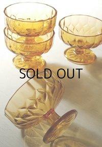 KAMEI GLASS デザート/アイス/氷 足つきカップグラス