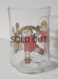 1984 AOO CABBAGE PATCH KIDS GLASS/ キャベツ人形プリントグラス