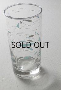 Libbey Glass リビーグラス 60'sプリントグラス アトミックフィシュ