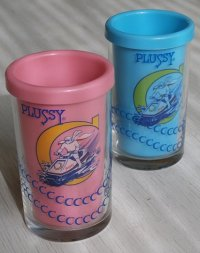 PLUSSY プラッシー  月光仮面Wカップ  タケダ食品  各1個