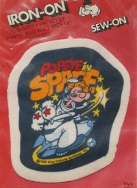POPEYE SPACE  ポパイスペース  PATCH  IRON-ON SEW-ON   パッチ/ワッペン
