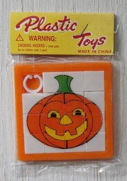 """画像1: Plastic Toys  スライドパズル ハロウィン""""パンプキンランタン"""""""