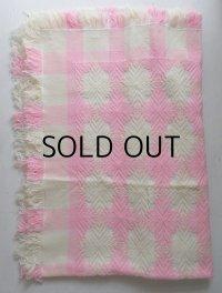 こたつ上掛 Xエクスラン かわいいちゃん size:180×180(cm) color:ホワイト×ピンク
