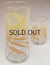 Libby Glass /リビーグラス ウィートプリントグラス/タンブラー size: S.L
