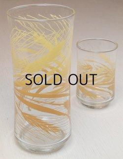 画像1: Libby Glass /リビーグラス ウィートプリントグラス/タンブラー size: S.L