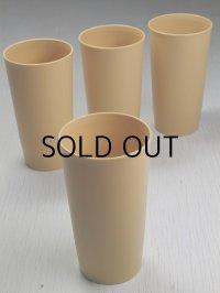 Tupperware Tumblers Harvest Gold タッパーウェア  タンブラー4pcセット size: Ø7.3×H13.3×Ø5.6(cm) color: カーキ