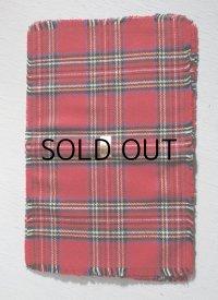 スコットランド製ハンドメイド ELIZABETH JANE SLATER for SCOTSCAVES  ロイヤルスチュワートタータン柄 size: L44.5×W29(cm) テーブルマット4枚セット