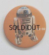 """STAR WARS スターウォーズピンバッチ/缶バッチ """"R2-D2"""" (1977)"""
