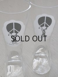 "Moppets""PEACE"" 編上げブーツ型グラス ©MCMLXX FRAN MAR"